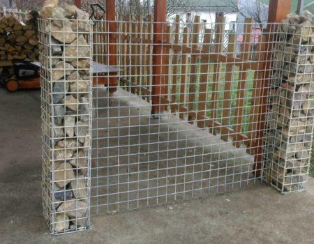 Gabion ograde i zidovi